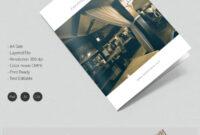 Dazzling Hotel & Travel A4 Bi Fold Brochure Template | Free in Hotel Brochure Design Templates