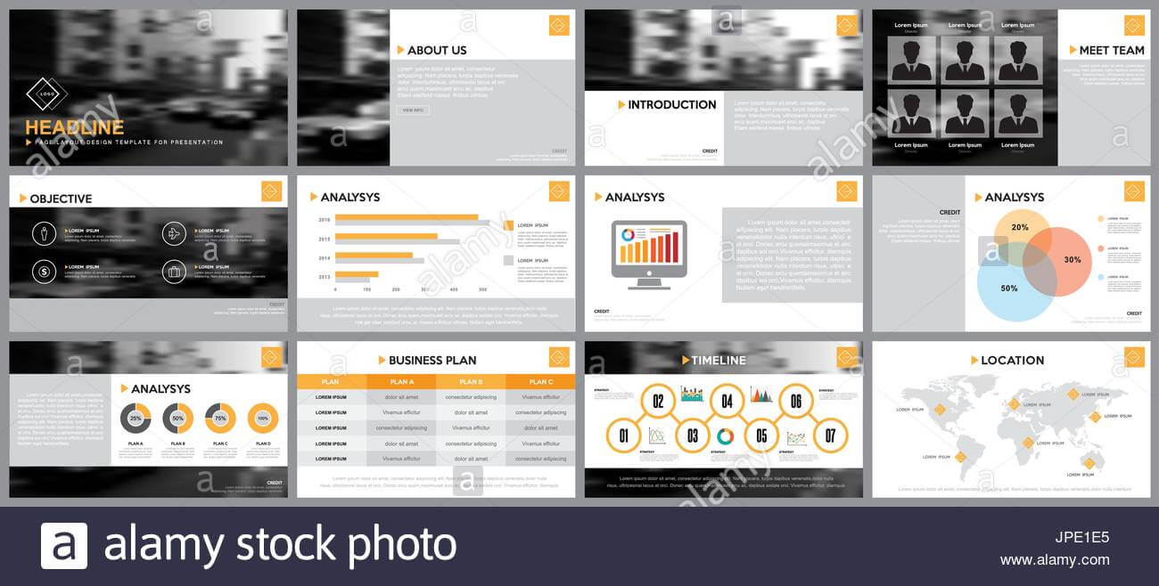 Design Element Of Infographics For Presentations Templates with regard to Keynote Brochure Template