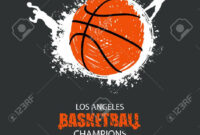 Design For The Basketball Championship. Banner, Flyer Template.. within Sports Banner Templates