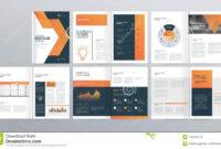 Design Layout Template For Company Profile ,annual Report regarding Welcome Brochure Template