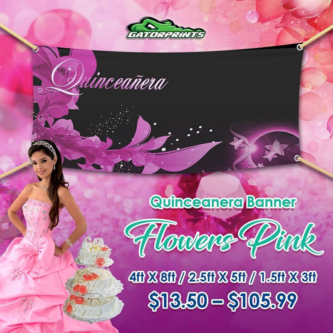 Design Your Own Quinceañera Banner Or Use Anyone Of Our regarding Sweet 16 Banner Template