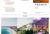 Destination Travel Tri Fold Brochure Template – Venngage pertaining to Travel And Tourism Brochure Templates Free
