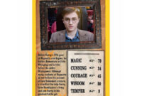 Details About Harry Potter And The Order Of The Phoenix Top Trumps Card Game within Top Trump Card Template