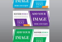 Diagonal Banner Design Templates Web Banner Regarding Website Banner Design Templates