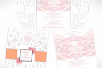 Die Cut Wedding Invitations Tree Invitation Ideas Design for Celebrate It Templates Place Cards