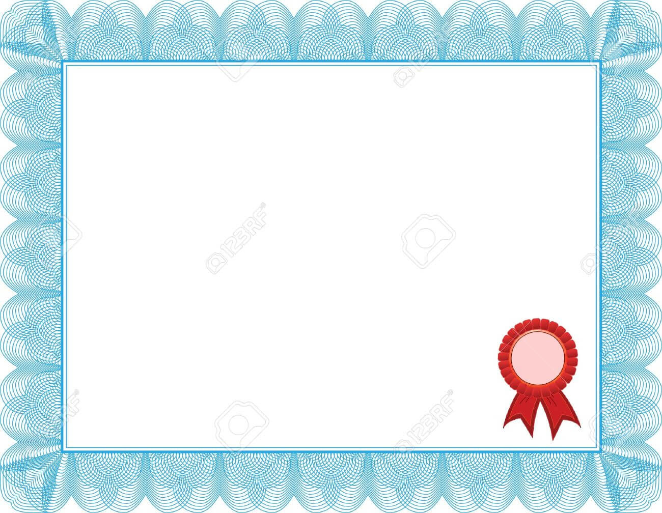 Diploma, Certificate Template Intended For Award Certificate Border Template