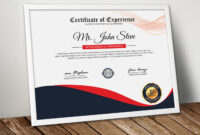 Diploma Certificate Template Word – Vsual pertaining to Professional Certificate Templates For Word