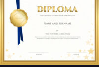 Diplomas And Certificates Templates | Business Plan Template intended for Borderless Certificate Templates