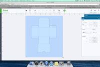 Diy Box Template For Cricut Design Space for Card Box Template Generator