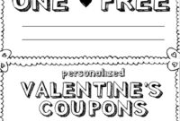 Diy Coupon Template – Major.magdalene-Project in Love Coupon Template For Word