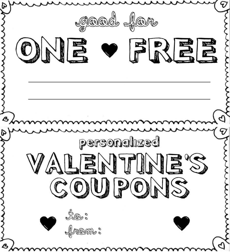 Diy Coupon Template - Major.magdalene-Project in Love Coupon Template For Word