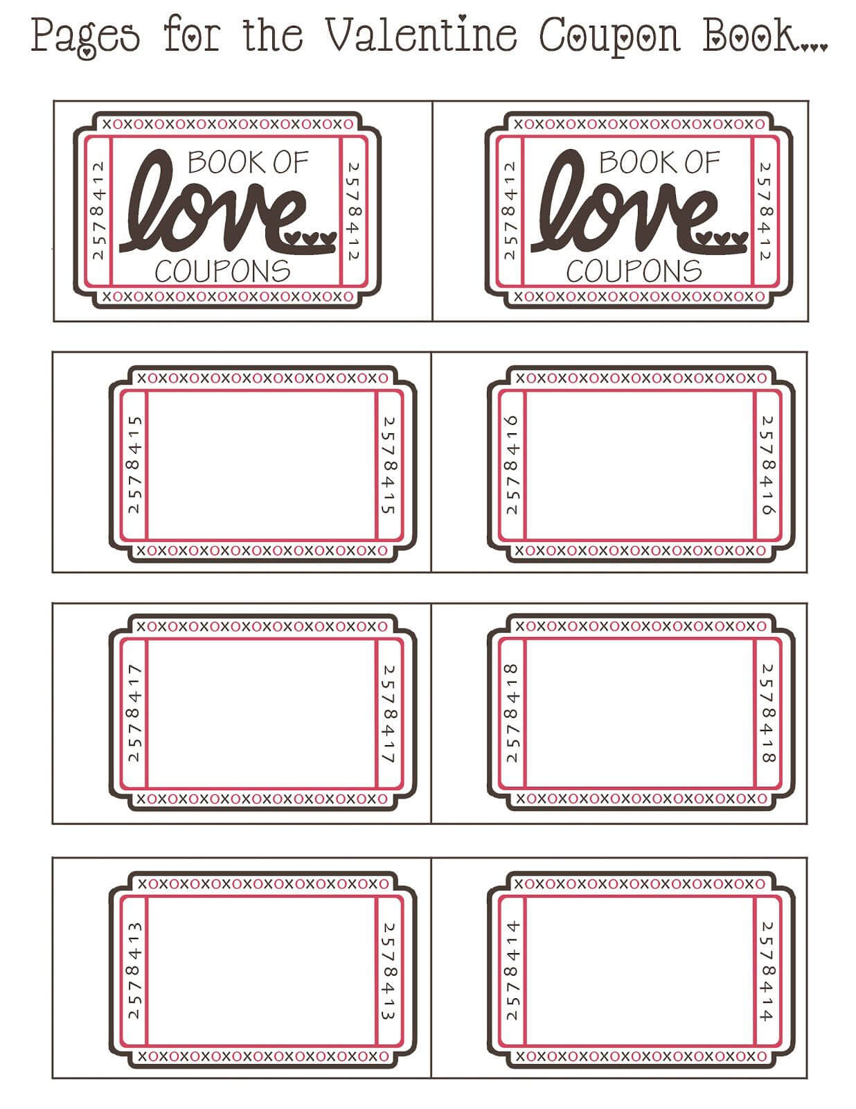 Diy Coupon Template - Major.magdalene-Project with regard to Love Coupon Template For Word