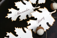Diy Fall Place Card, Free Printable Download | Thanksgiving For Free Place Card Templates Download
