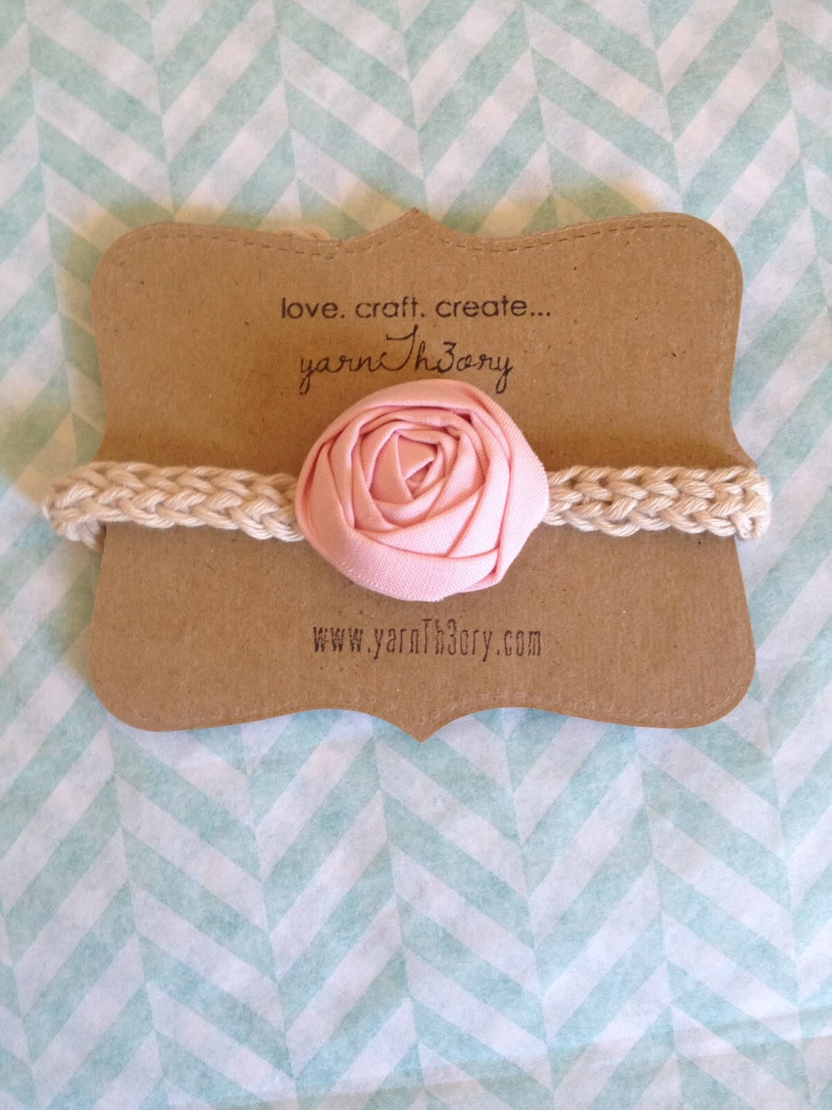 Diy: Product Display Cards | Yarnth3Ory throughout Headband Card Template