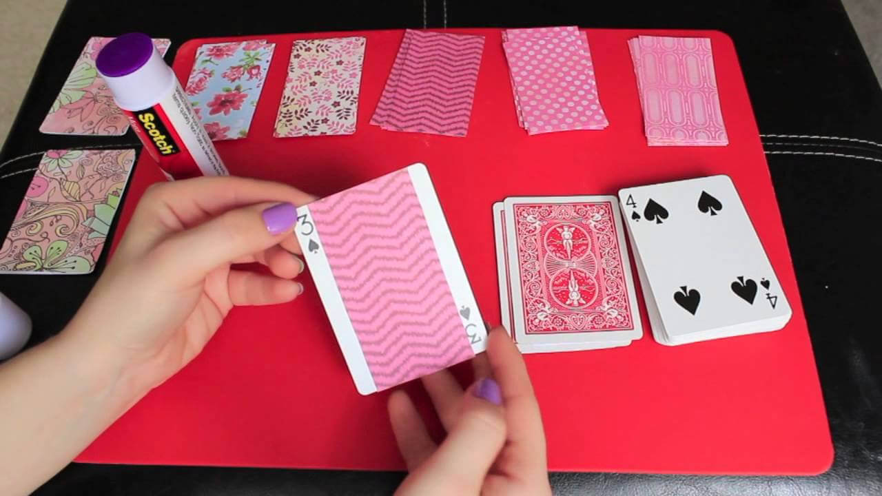 Diy: Valentine's Day 52 Reasons Why I Love You for 52 Things I Love About You Deck Of Cards Template