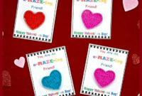 Diy Valentine's Day Cards For Kids With Free Printable with Valentine Card Template For Kids