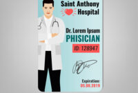 Doctor Id Card pertaining to Doctor Id Card Template
