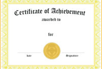 Dog Birth Certificate Free Template with regard to Microsoft Word Award Certificate Template
