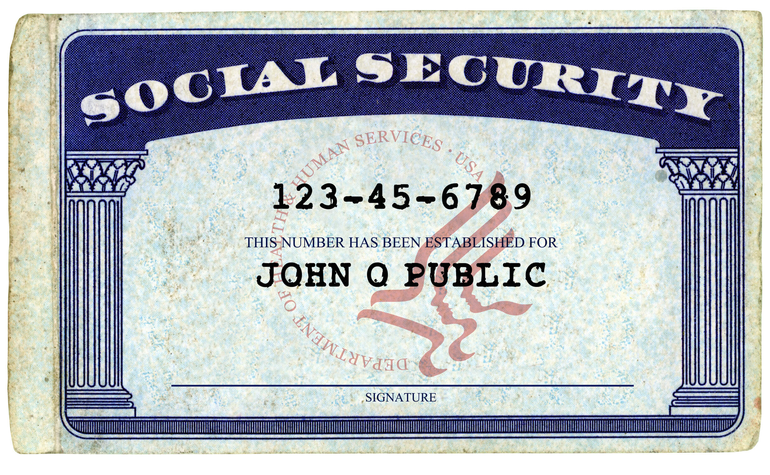 Don't Give Your Social Security Number At These Places regarding Social Security Card Template Photoshop