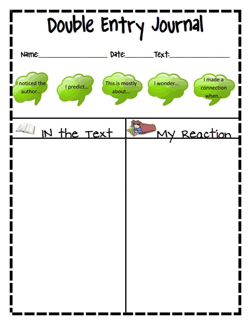 Double Entry Journal Sheet.pdf - Google Drive … | Double throughout Double Entry Journal Template For Word