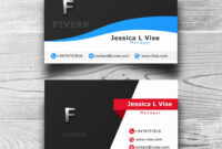 Double Sided Business Card Template Illustrator | Lera Mera regarding Double Sided Business Card Template Illustrator