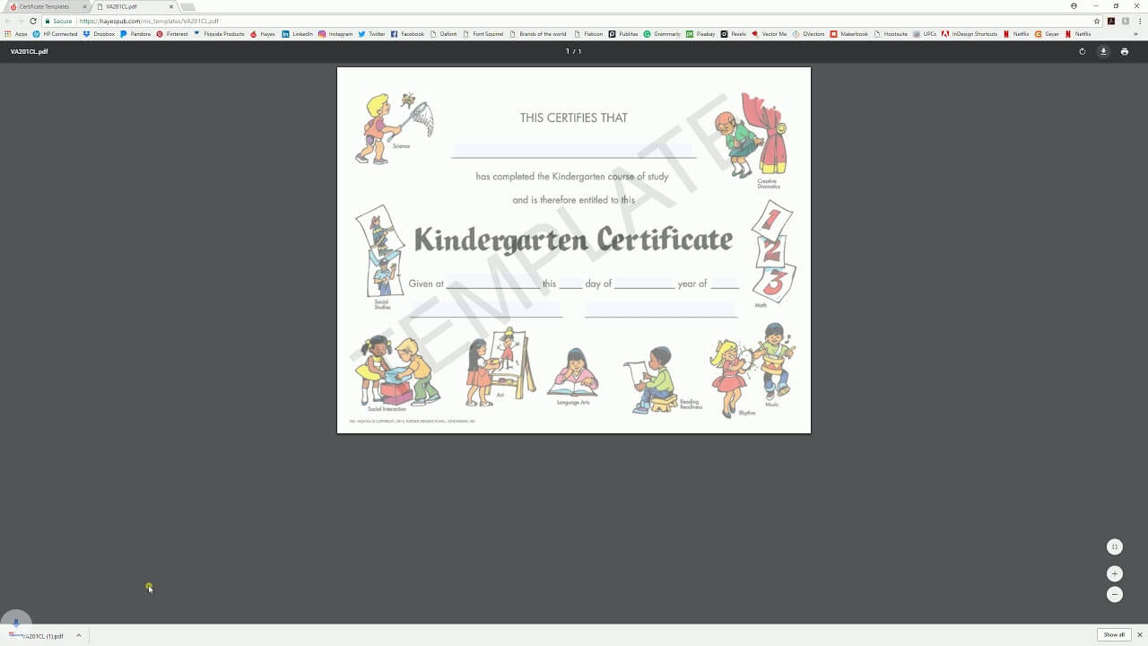 Download And Edit With System Viewer – Hayes Certificate In Hayes Certificate Templates