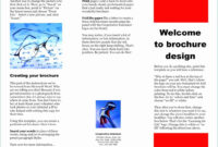 Download Brochure Template Microsoft Word 2007 Free throughout Brochure Templates For Word 2007