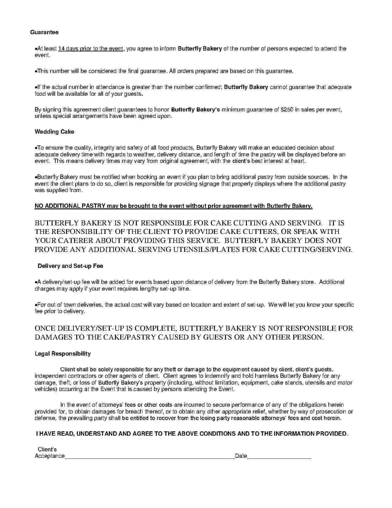 Download Catering Contract Style 13 Template For Free At In Catering Contract Template Word