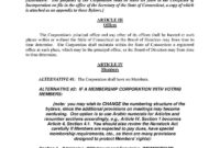 Download Corporate Bylaws Style 11 Template For Free At in Corporate Bylaws Template Word