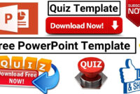 Download Free Template For Making Powerpoint Visual Quiz 2018 Updated regarding Powerpoint Quiz Template Free Download