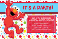 Download Now Free Template Free Printable Elmo Birthday with Elmo Birthday Card Template