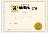Download-Pdf-Achievement-Certificates-Templates-Free in Certificate Of Accomplishment Template Free