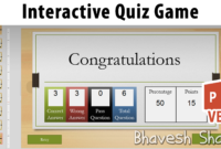 Download Powerpoint Template – Quiz Game With Points for Powerpoint Quiz Template Free Download