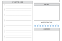 Download Printable Daily Plan With To-Do List & Important with Blank To Do List Template