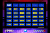 Download The Best Free Jeopardy Powerpoint Template – How To Make And Edit  Tutorial regarding Jeopardy Powerpoint Template With Score