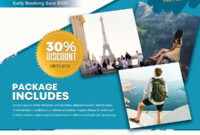 Download Travel Holiday Psd Flyer Template For Free. This inside Travel And Tourism Brochure Templates Free