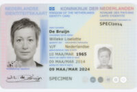 Dutch Identity Card – Wikipedia pertaining to Georgia Id Card Template