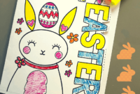 Easter Card Template | Mrs Mactivity for Easter Card Template Ks2