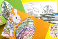 Easy Pop Up Easter Card – 3D Easter Egg Diy within Easter Card Template Ks2