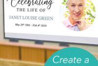 Easy To Edit Powerpoint Template To Share Your Loved One's with Funeral Powerpoint Templates