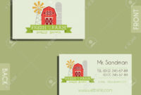 Eco, Organic Visiting Card Template. For Natural Shop, Farm Products.. inside Bio Card Template