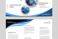 Editable Brochure Template Word Free Download | Brochure in Microsoft Word Pamphlet Template