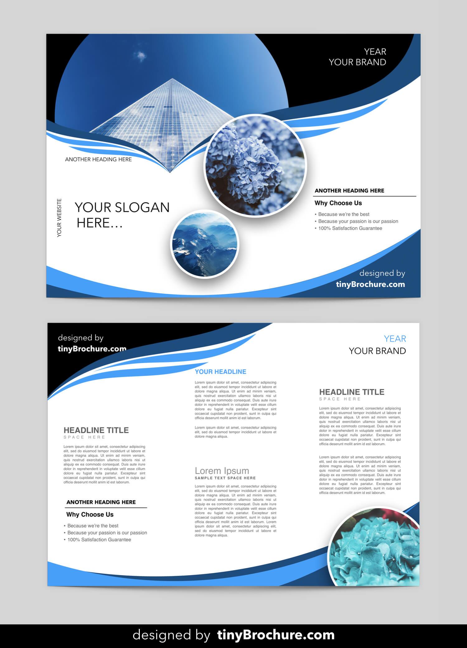 Editable Brochure Template Word Free Download | Brochure Pertaining To Free Brochure Template Downloads