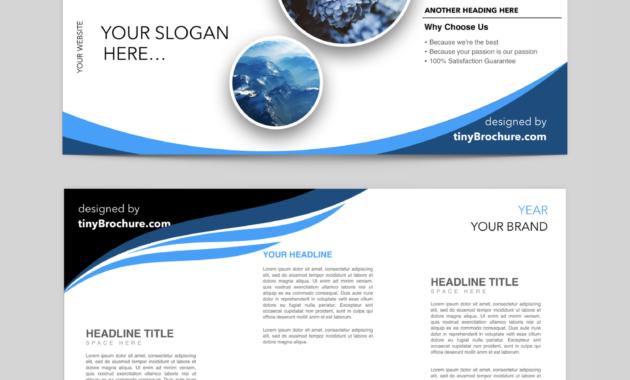 Editable Brochure Template Word Free Download   Brochure within Brochure Templates For Word 2007