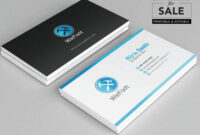 Editable Business Card Templatenijriedesign On Etsy in Adobe Illustrator Business Card Template
