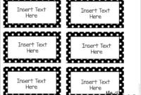 Editable Word Wall Templates | Classroom Labels Free, Label With Free Label Templates For Word