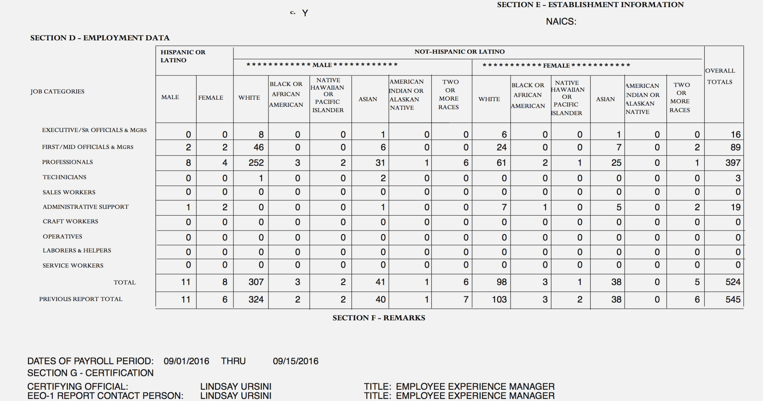 Eeo 1 Form Tax Refunds Eeo-1 Sample Self Identification 2019 intended for Eeo 1 Report Template