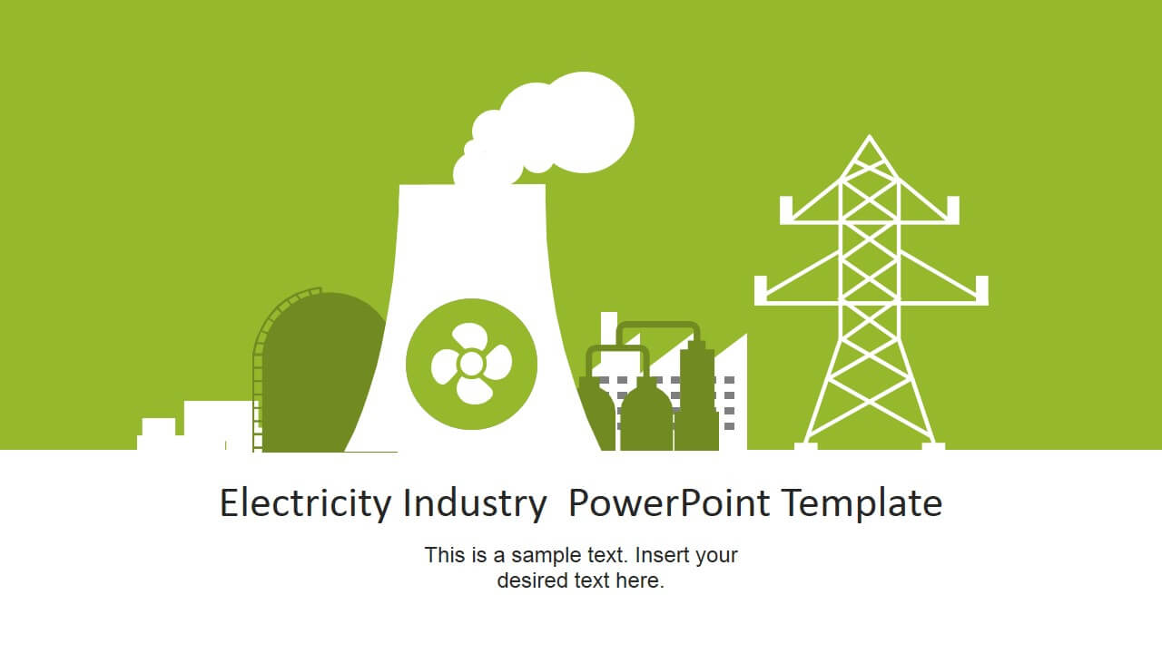 Electricity Industry Powerpoint Template With Regard To Nuclear Powerpoint Template