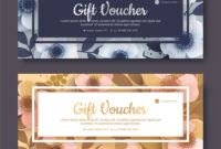 Elegant Gift Voucher Coupon Template intended for Elegant Gift Certificate Template