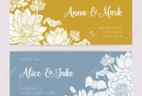 Elegant Wedding Invitation Or Save The Date Card Templates With.. in Save The Date Cards Templates